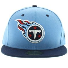 79cbcb570 NFL Tennessee Titans Two Tone 59Fifty Fitted Cap by New Era.  15.38. Show  Your