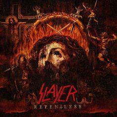 MUSIC EXTREME: SLAYER REVEALS NEW ALBUM ARTWORK #slayer #metal #thrashmetal #thrash