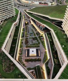 Zorlu Center, by DS Architecture – Landscape, Istanbul, Turkey.  -The LA Team  www.landarchs.com
