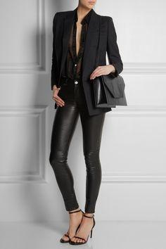 Saint Laurent Betty Jumbo textured-leather shoulder bag NET-A-PORTER.COM