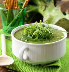 Broccoli and Arugula soup - Ekhart Yoga More