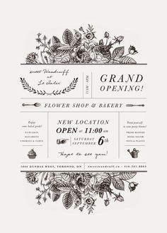 Graphic Design - Graphic Design Ideas - Sweet W Style: grand opening! sweet woodruff at le dolci Graphic Design Ideas : – Picture : – Description Sweet W Style: grand opening! sweet woodruff at le dolci -Read More – Web Design, Layout Design, Flyer Design, Type Design, Cafe Menu Design, Restaurant Logo Design, Vintage Restaurant, Restaurant Wedding, Book Design