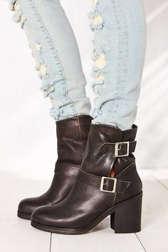 Jeffrey Campbell Double Buckle Boot