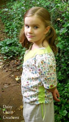 Project Run and Play: Sewing Friends: Sally from Daisy Chain Creations