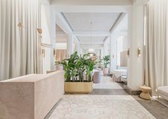 <p>Designed by Sacha Leong of Universal Design Studio, the interior reflects Chef Julien Royer's approach of keeping the integrity of ingredients with a soft color palette and décor that is comfortabl