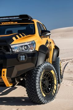 Toyota Australia and Tonka have teamed up to create a Hilux-based concept car. Toyota 4x4, Toyota Tacoma Trd, Toyota Trucks, Toyota Cars, Toyota Hilux, 4x4 Trucks, Custom Trucks, Ford Trucks, Motorcycle Camping