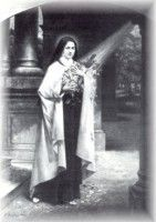 """St. Therese  """"I will let fall a shower of roses. I will spend my heaven, doing good on earth."""""""