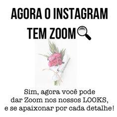 Quem nunca tentou dar zoom no Instagram 🙈😂 eu sempre tento kkk e hoje por acaso nessas tentativas doidas sem querer, consegui hahaha AMEII😜💜