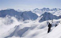 Skiing in Andermatt - Switzerland