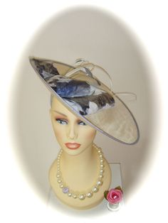 Vivien Sheriff Fascinator VV067, Sandelwood, Mother of Bride Races Ladies Formal, £125