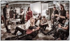 Funny Colin O'Donoghue -Killian Jones - Captain Hook and Co Star Jennifer Morrison - Emma Swan on Once Upon A Time