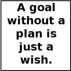 Een organisatie zal vooraf de doelen vast moeten stellen, zodat de organisatie en haar medewerkers naar deze doelen kunnen streven!