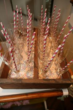 Charity's Sip 'n' See Bubbly Bar, Champagne Bar, Sip N See, It's Your Birthday, Birthday Ideas, Happy Birthday, Event Design, Bubbles, Gift Wrapping