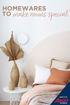 Turn your house into a home with beautiful homewares in gorgeous colour palettes and styles.