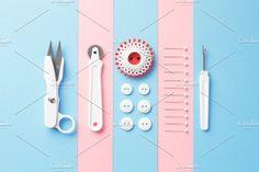 Sewing Tools. Abstract Photos