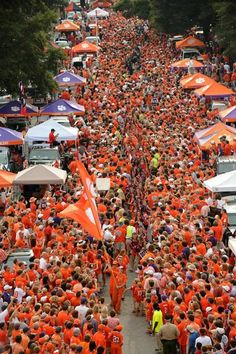Pre-game Clemson Football