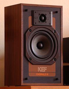 Beautiful vintage KEF monitor
