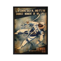Ed White - Lynx Art Collection Space Posters