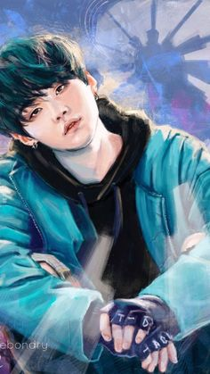 Min yoongi by partshestars on DeviantArt Bts Suga, Fanart Bts, Jungkook Fanart, Bts Art, Bts Anime, Art Manga, Bts Drawings, Bts Chibi, Bts Lockscreen