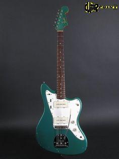 Fender Jazzmaster 1965 - Sherwood green | Reverb