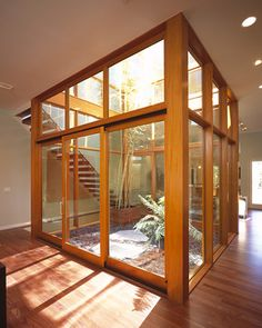 Atrium homes on pinterest courtyards joseph eichler and for Atrium design and decoration