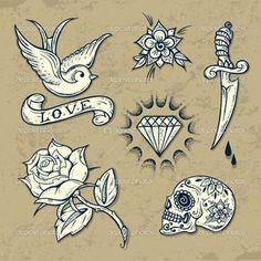 tattoo old school - Hledat Googlem