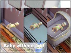 Baby and Crib at Sims Studio via Sims 4 Updates