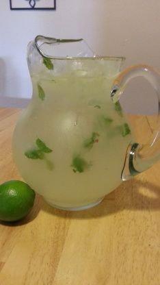 This refreshing cocktail features lime, sugar, mint and more and is the best way to enjoy summer. Find more mojito recipes and drink ideas from Food.com.