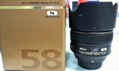 Nikon 58mm f/1.4 announced  http://www.kentyuphotography.com/blog/2013/10/nikon-58mm-f1-4-announced/