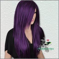 deep purple hair...in love