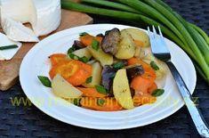 Brambory pečené se zeleninou – Maminčiny recepty