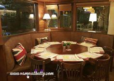 Ven a probar la nueva mesa de hasta 10 personas en círculo del www.vamosalbully.com esta noche de Domingo de #SemanaSanta en #Donostia #SanSebastian Puedes reservar en el tel. 943 21 42 87. www.vamosalbully.com