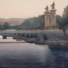 Paris. Pont Alexandre III - Charles Villeneuve
