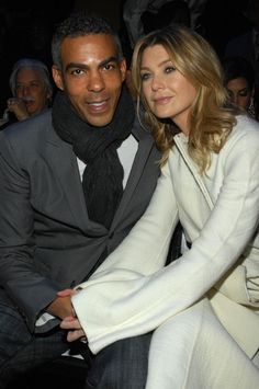 Ellen Pompeo and Chris Ivery - Sean John - Front Row - Fall 08 MBFW