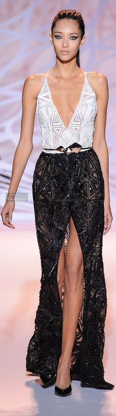 Daniela de Jesus for Zuhair Murad Haute Couture Fall 2014... so classic.