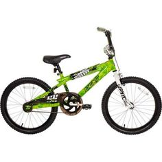 "20"" Next Boys' Wipeout BMX Bike,Green Solid Steel BMX Frame Gift Ideas Free Ship #Generic"