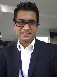kalyan Chaubey: Me in Specs, Kalyan Chaubey in different look.