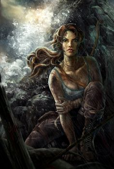 #TombRaider Fan #Art #videogames