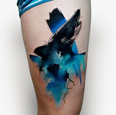 Abstract Tattoos by Szymon Gdowicz are Homage to the Paintbrush