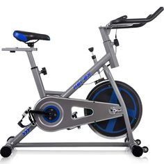 65874cee67d Pro Stationary Exercise Bike Indoor Bicycle Fitness  Gym Cardio Cycling