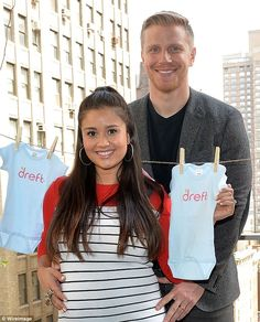 Proud parents! Sean Lowe and Catherine Giudici welcomed a son Samuel Thomas on Saturday, t...