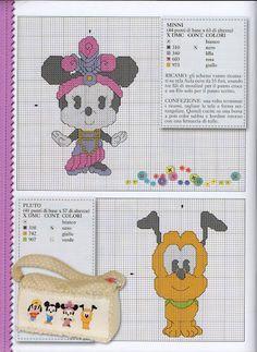 Cutie's - Minnie & Pluto