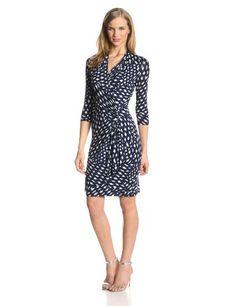 Karen Kane Women's Spotted Cascade Wrap Dress, Print, X-Small Karen Kane,http://www.amazon.com/dp/B00HANMEH2/ref=cm_sw_r_pi_dp_RTnFtb0KFK0K2VBG