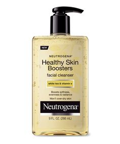 Give skin a dose of nourishing vitamin E and other antioxidants every time you wash your face. Neutrogena Healthy Skin Boosters Facial Cleanser, $7.50.   - Redbook.com