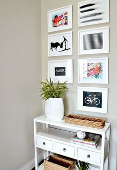Decor - Entryway and Free Printables Entryway Gallery Wall at Home Sweet Home Home Sweet Home may refer to: Entryway Decor, Bedroom Decor, Entryway Console, Diy Casa, Creation Deco, Home And Deco, Cool Walls, Wall Design, Room Inspiration