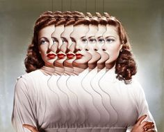 Matthieu Bourel – Duplicity Collages