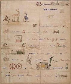 I absolutely adore this antique handwritten and delicate illustrated letter by Millais to his friends the Lempriere