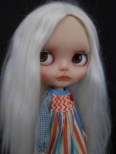 Custom Translucent Rbl Blythe Doll por Spookykidsworkshop en Etsy