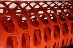 Absperr- Baustellenzaun orange, 1,0 x 50m