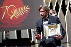 Ruben Ostlund- le réalisateur avec la Palme d'Or.